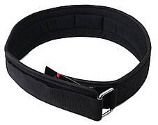 Пояс для тяжелой атлетики неопреновый SportVida SV-AG0099 (L) Black, фото 3