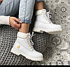 Женские зимние ботинки Timberland 6 Inch Premium Winter White зима Тимберленд С МЕХОМ белые, фото 5