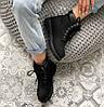 Женские зимние ботинки Timberland 6 Inch Premium Black 2020 Тимберленды БЕЗ МЕХА Тимбы черные, фото 6