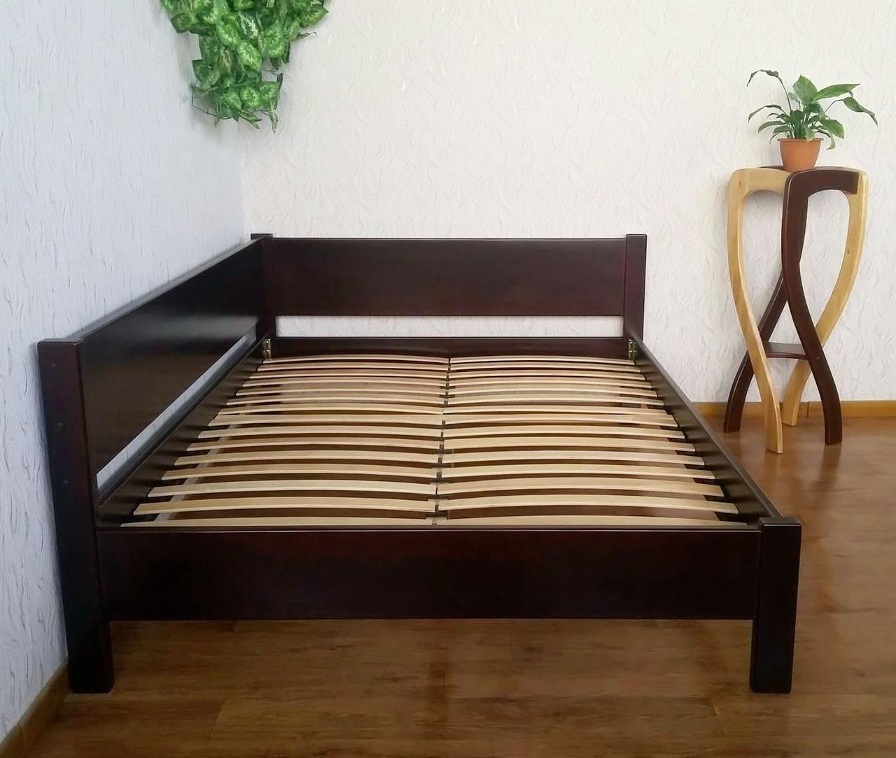 Угловая деревянная кровать Шанталь