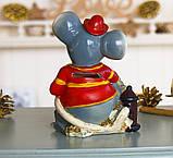 Копилка мышка пожарный 11*15*8 см 026 A 073-1, фото 4