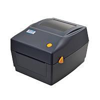 Принтер этикеток, термопринтер штрих кодов, QR кодов Xprinter XP-DT426B USB 110mm