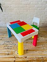 Столик со стульчиком Tega Baby MULTIFUN Тега Мультифан