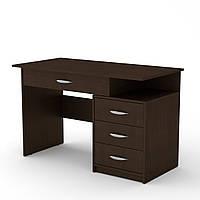 Стол письменный студент-2 венге темный  (120х60х75 см)