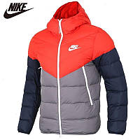 Яскрава тепла стьобаний зимова куртка кольорова для команд і в роздріб, фото 1