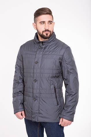 Мужская демисезонная куртка CW13MC136 #серая, фото 2