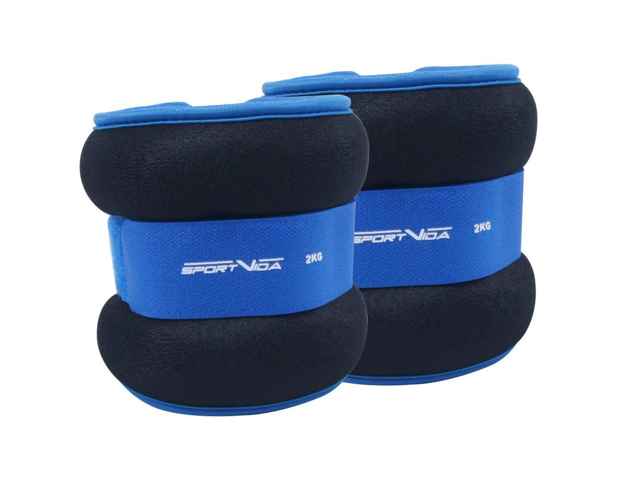 Утяжелители для ног и рук SportVida 2 x 2 кг SV-HK0036