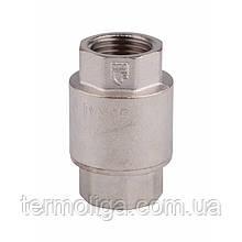 """Обратный клапан SD Forte с латунным штоком 1/2"""" никелевое покрытие"""