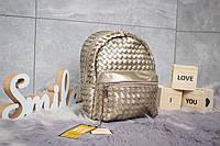 Рюкзак женские 90163, Valensiy, бронзовые ( 1  )