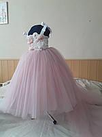 Дитяче плаття зі знімним шлейфом. Сукня універсальний розмір., фото 3