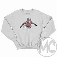 Свитшот Ant-Man (Человек-Муравей)   Свитшот Человек Муравей   Реглан Человек Муравей   Світшот Людина Мураха Белый