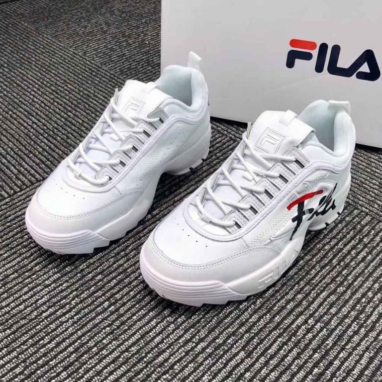 Оригинальные кроссовки мужские Fila Disruptor 3 White