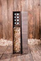 Камни для виски в подарочном деревянном пенале для виски № 2. 8 стеатитовых камней + щипцы + мешочек
