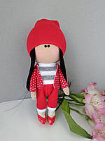 Кукла Тильда ручной работы оригинальный подарок для девушки женщины Tilda051