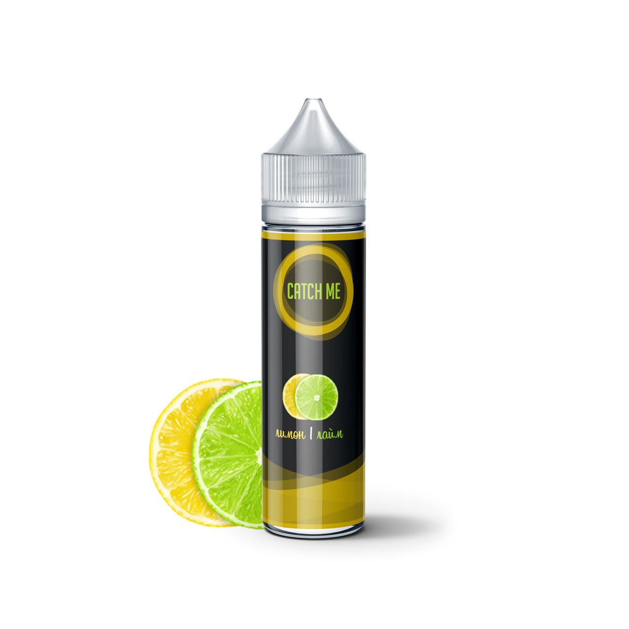 Жидкость для вейпа CATCH ME Лимон и лайм 60 мл 0 мг