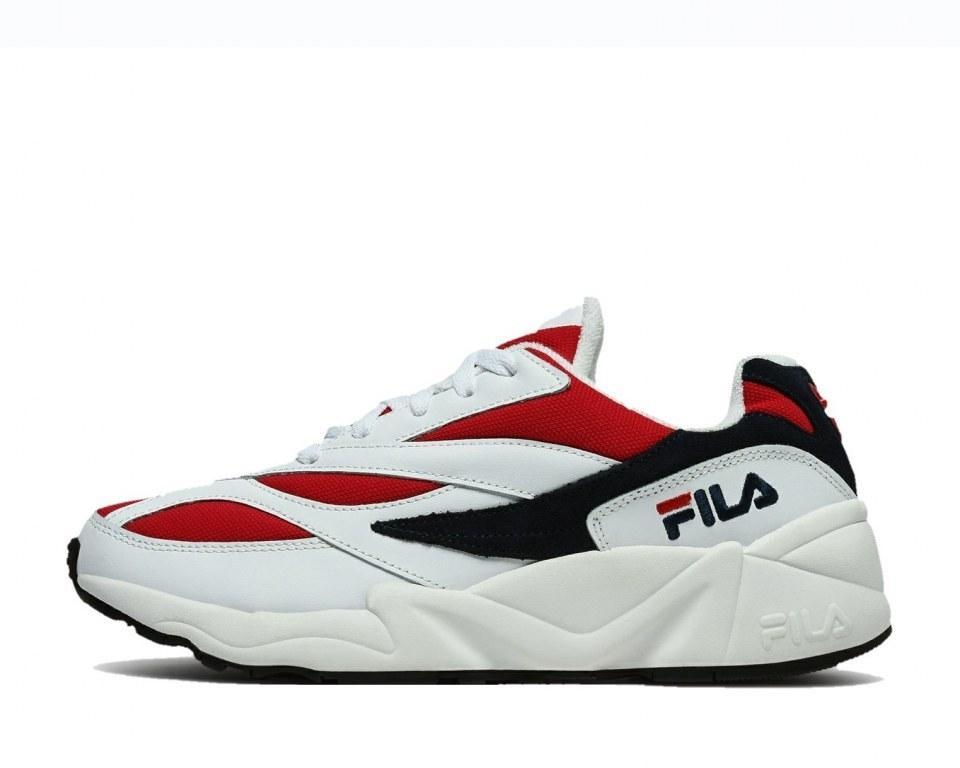Оригинальные кроссовки мужские Fila Wenom 94 Low White/Red