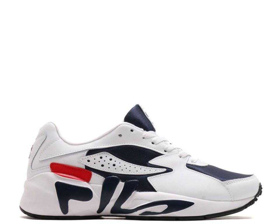 Оригинальные кроссовки мужские Fila Mindblower White/Red/Black