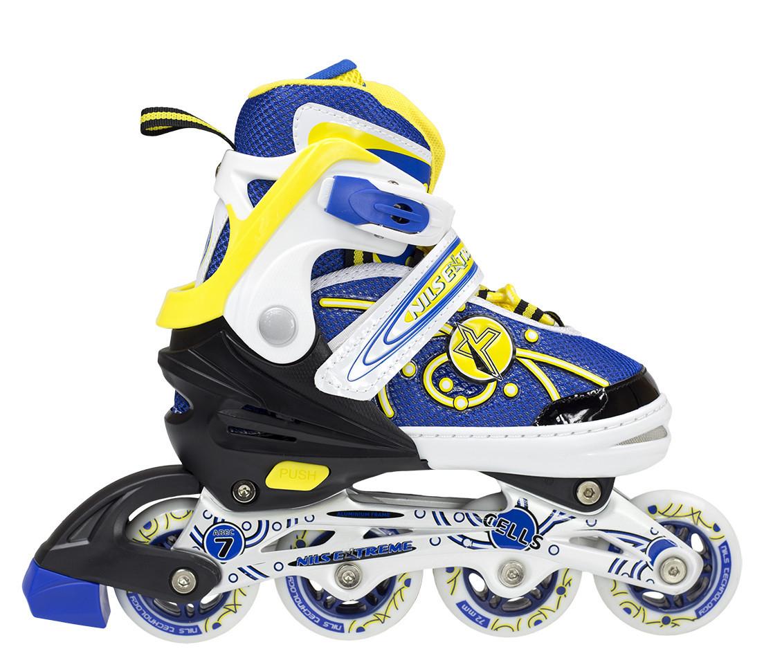 Роликовые коньки Nils Extreme NA1152A Size 31-34 Yellow
