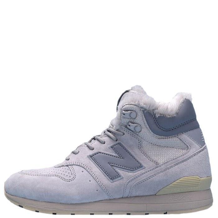 Оригинальные кроссовки мужские зимние New Balance 696 Hight Winter Cream с мехом