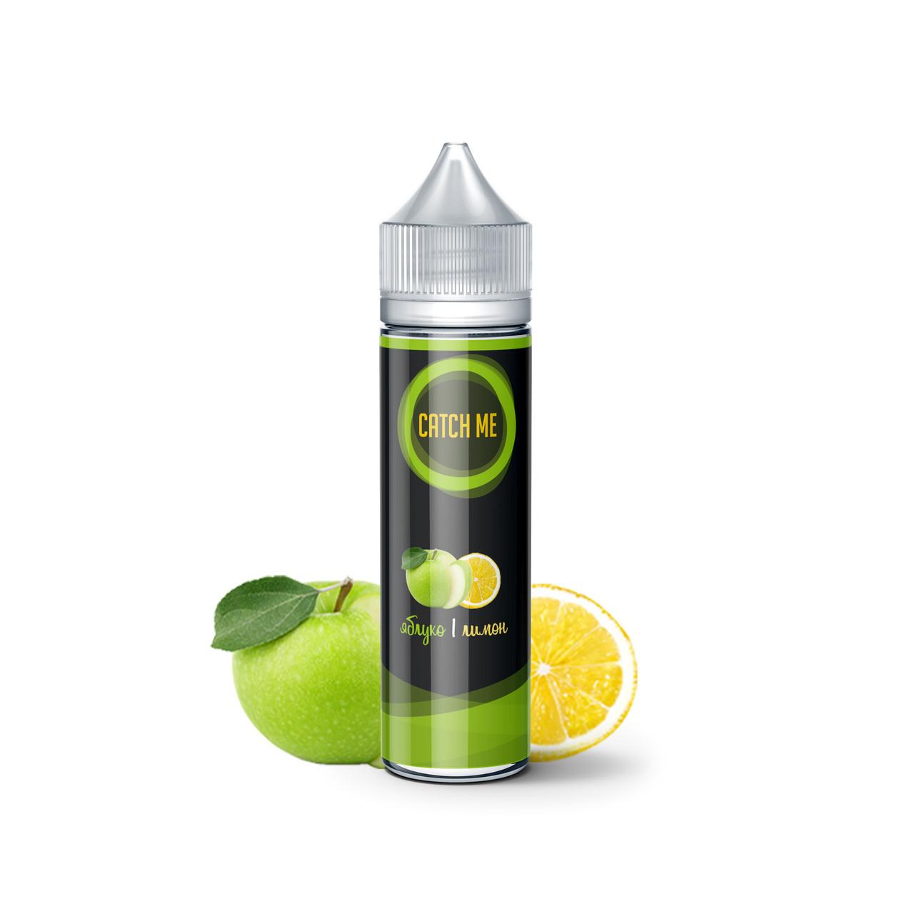 Жидкость для вейпа CATCH ME Яблоко и Лимон 60 мл 0 мг