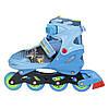 Роликовые коньки Nils Extreme NJ4605A Size 34-37 Blue, фото 4