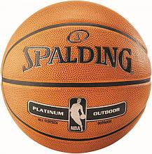 М'яч баскетбольний Spalding NBA Platinum Outdoor Size 7