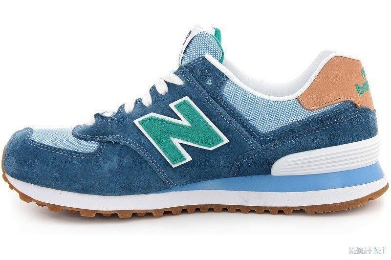 Оригинальные кроссовки женские New Balance WL 574 PIA Blue