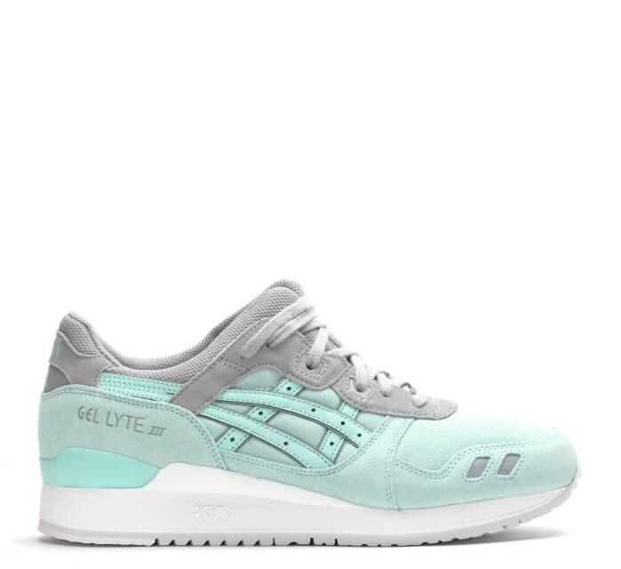 Оригинальные кроссовки женские Asics Gel Lyte III Mint/Grey