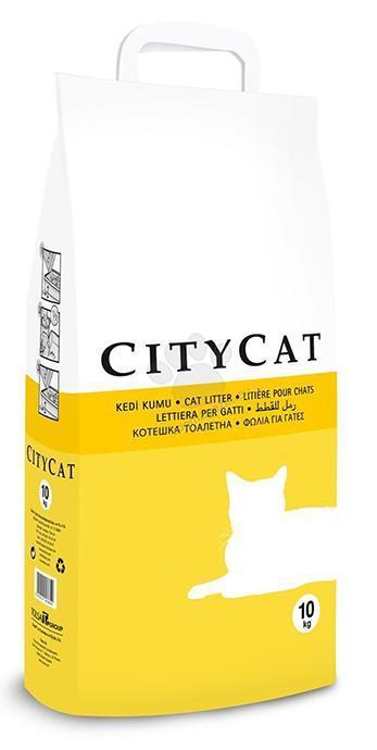 Наполнитель для туалета кошек CityCat впитывающий 5 кг