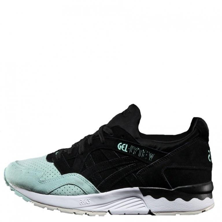 Оригинальные кроссовки женские Asics Gel Lyte V Suede Toe Pack Black/Mint