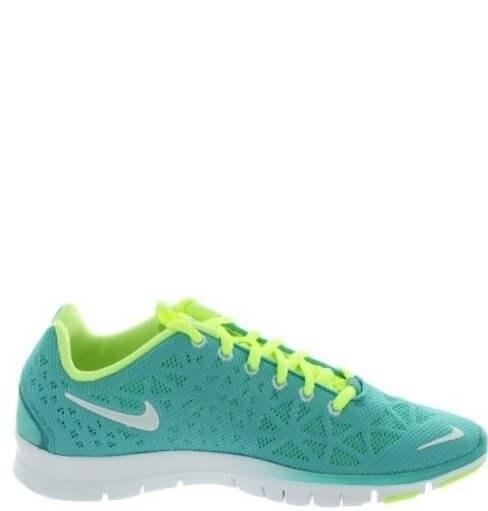 Оригинальные кроссовки женские NIke Free Run TR Green/Mint