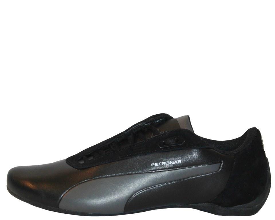 Оригинальные кроссовки мужские Puma Mercedes AMG Black/Antracit