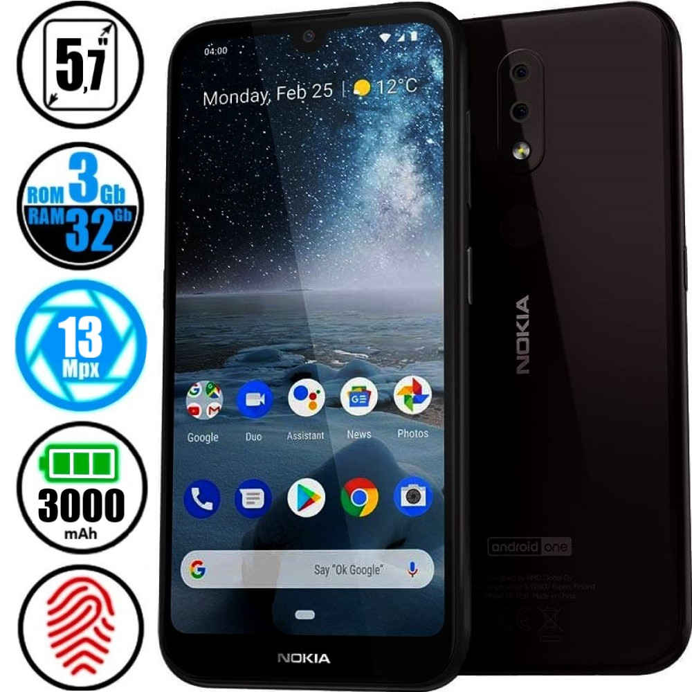 Смартфон Nokia 4.2 Dual Sim 3/32GB TA-1157 Black