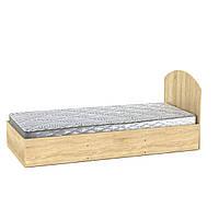 Кровать 90 дуб сонома  (94х204х85 см)