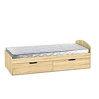 Кровать 90+2 дуб сонома  (94х204х95 см)