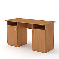 Стол письменный Учитель (кромка АБС - 2 мм) бук  (130х60х74 см)
