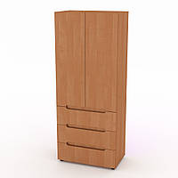 Шкаф книжный МС-22 ольха