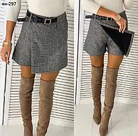 Женская модная качественная юбка шорты Разные цвета, фото 1