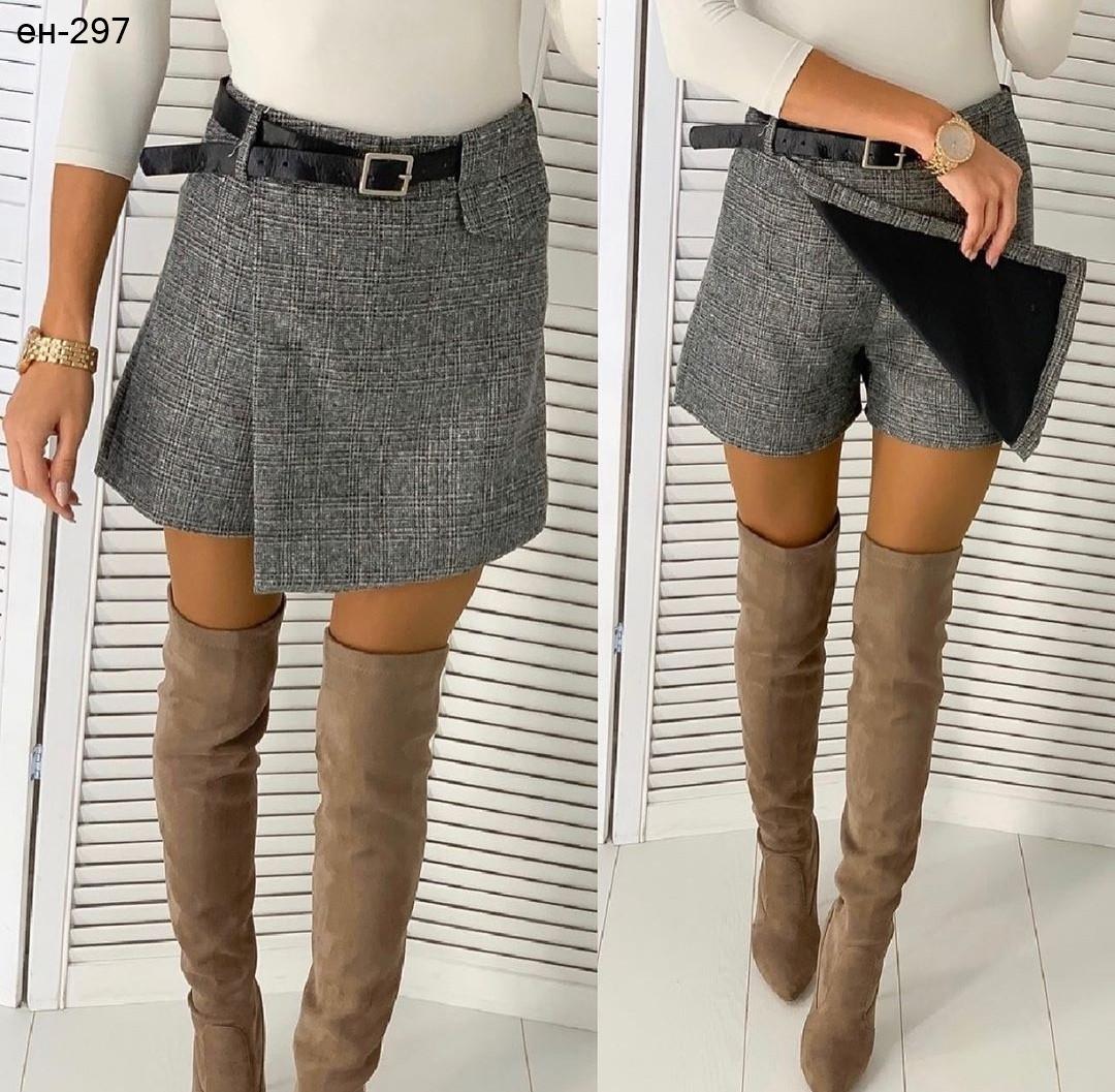 Женская модная качественная юбка шорты Разные цвета