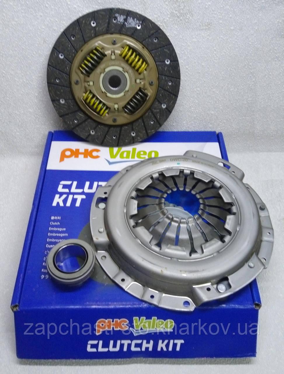 Комплект сцепления Шевроле Авео, Вида корзина диск подшипник Valeo PHC