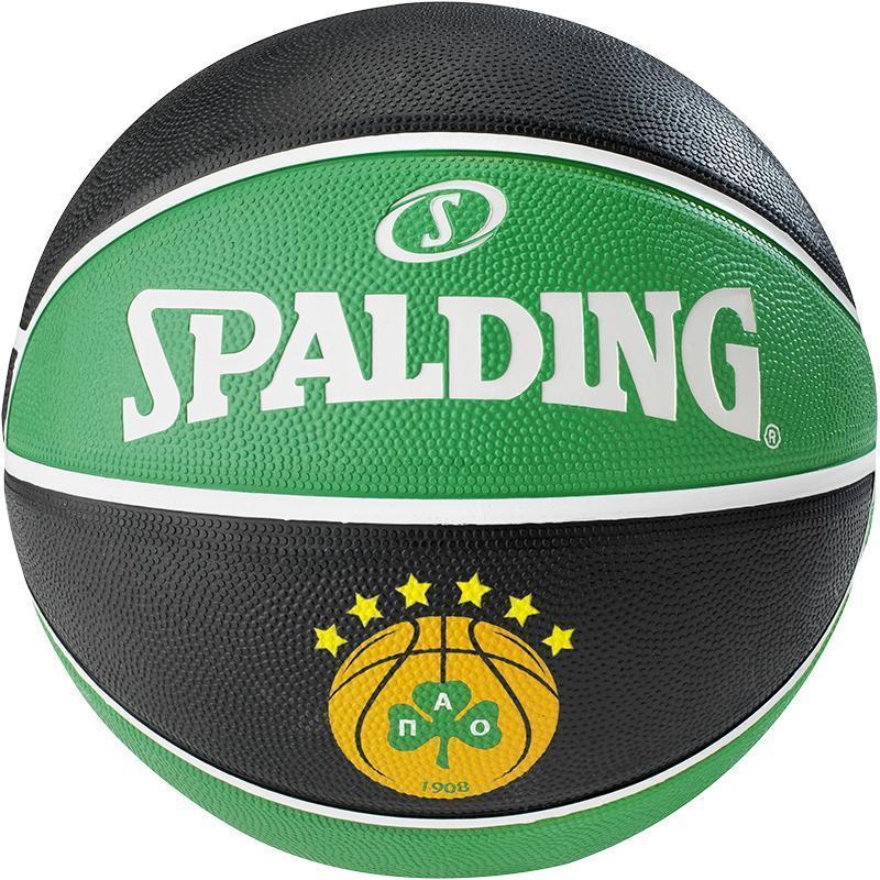 Мяч баскетбольный Spalding EL Team Panathinaikos Size 7