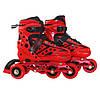 Роликовые коньки SportVida 4 в 1 SV-LG0024 Size 39-42 Red, фото 3