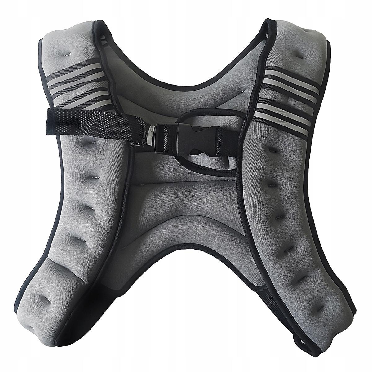 Утяжелитель-жилет Sport Shiny 10 кг SS6057-10-GR Grey