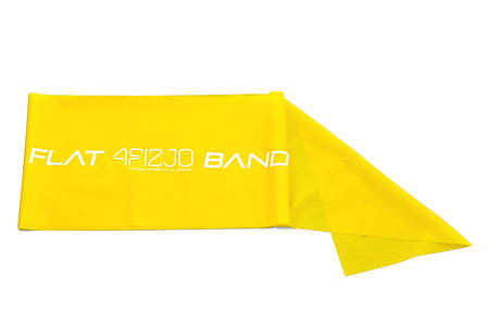 Резинка для фитнеса и спорта (лента-эспандер) эластичная 4FIZJO Flat Band 200 см х 0.15 мм 4FJ0003, фото 2