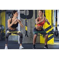 Резинка для фитнеса и спорта (лента-эспандер) эластичная 4FIZJO Mini Power Band 3 шт 4FJ0008, фото 2