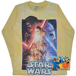 "Детский батник ""Star Wars"" , трикотаж , для мальчика (рост 98-104-110-116-128 см)"