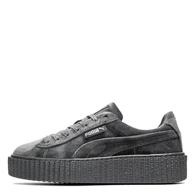 Оригинальные кроссовки женские Puma x Rihanna Fenty Suede Creeper Velvet Grey