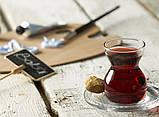 Чайный стакан (армуду) с блюдцем  Etnik 96575 (6шт), фото 2