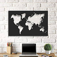 Картина из дерева Map of Life 65x100 см ML1001