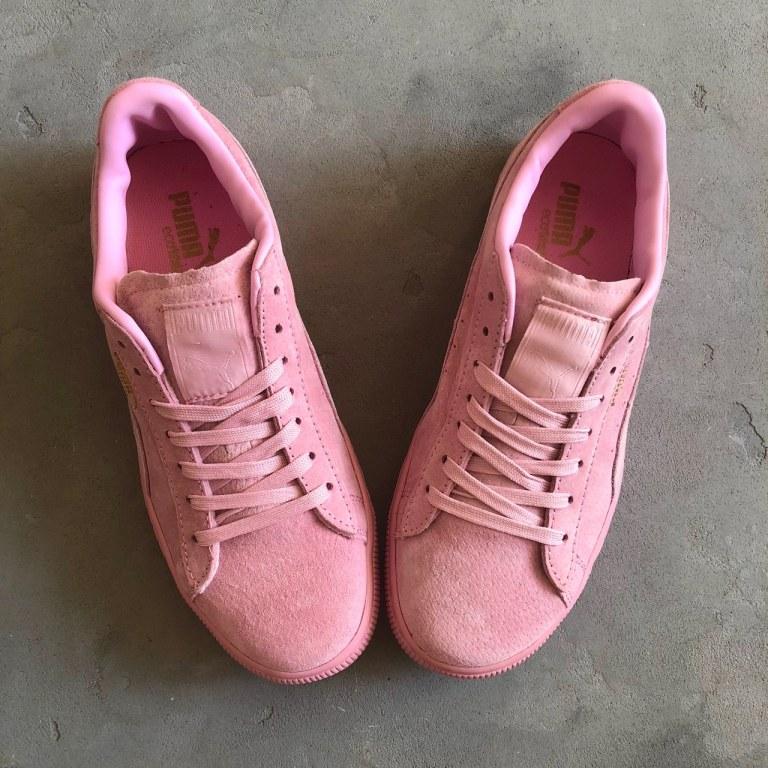 Оригинальные кроссовки женские Puma Classic Suede Pastel Pink